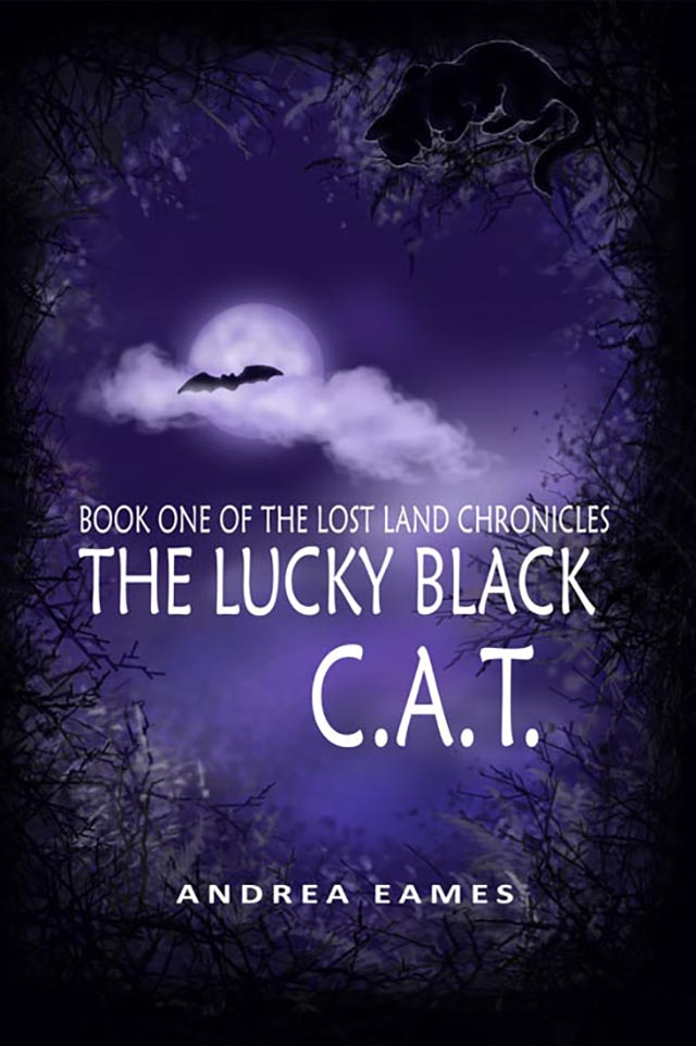 The Lost Land Chronicles Book One: The Lucky Black C.A.T. Cover