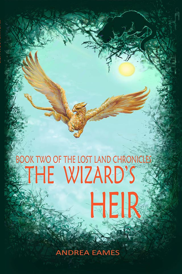 The Lost Land Chronicles Book Two: The Wizard's Heir Cover